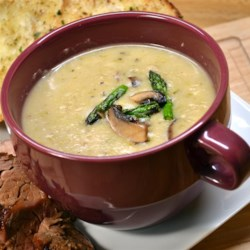 Guilt-Free Cream of Asparagus Soup Recipe