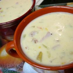 Cheddar Ham Chowder Recipe