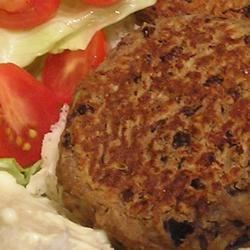 Homemade Black Bean Veggie Burgers