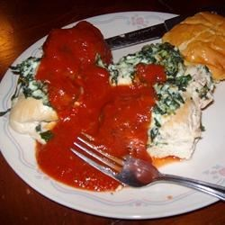 Photo of Florentine Stuffed Chicken by Tammy
