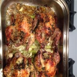 Herb-Roasted Cornish Hens Recipe