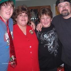 The Correia Clan at Christmas