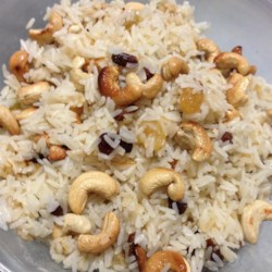 Rice with Almonds and Raisins Recipe