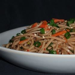 Oriental Cold Noodle Salad Recipe