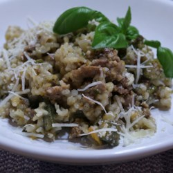 Portofino Lamb and Artichoke Risotto Recipe