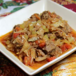low carb beef cabbage stew printer friendly