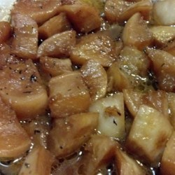 Beer Braised Turnips Recipe