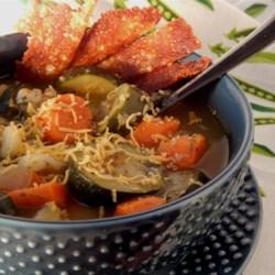 Garden Veggie Zucchini Soup Recipe