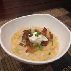 Slow Cooker Potato Corn Chowder Recipe
