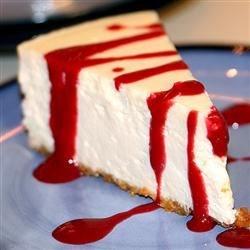 Chantal's New York Style Cheesecake