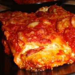 Five Cheese Manicotti