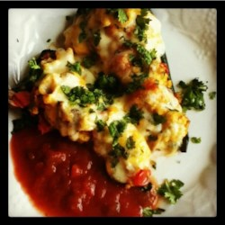 Breakfast Stuffed Poblano Peppers Recipe