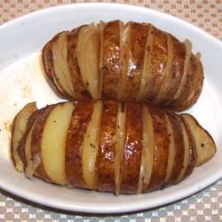 Wine Baked Potato