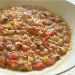 Photo of Black-Eyed Pea Gumbo by Lynn Blackwelder Patterson