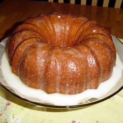 Apricot Nectar Cake II Recipe