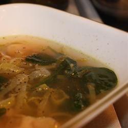 Spinach & Leek White Bean Soup