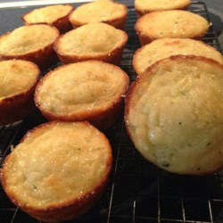 Lemon Zucchini Muffins Recipe