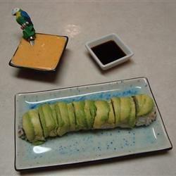 BBQ Eel sushi roll