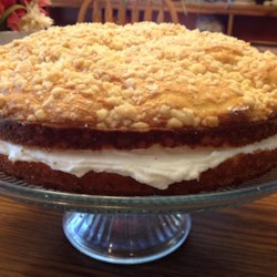 Italian Lemon Cream Cake Recipe