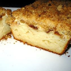 Cream Cheese Filled Coffeecake With Fruit Preserves And Crumble