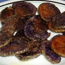 Blue potato Chips