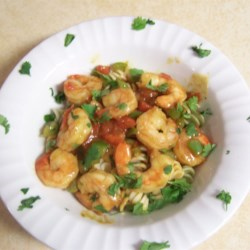 Caribbean Pasta with Shrimp Recipe
