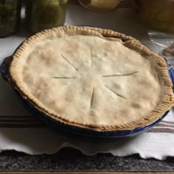 Green Tomato Pie III Recipe