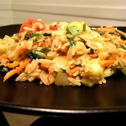 Vegetarian Lime Orzo Recipe