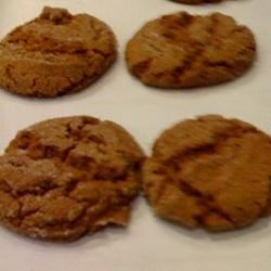 Ginger SLAP Crinkle Cookies