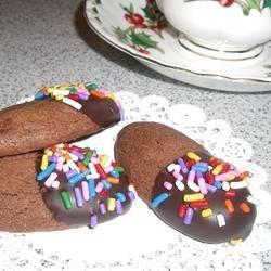 Gilded Chocolate Shortbread Recipe