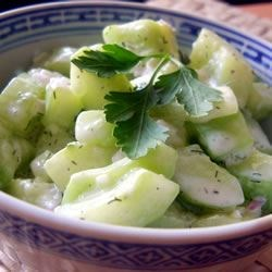 Photo of Cucumbers with Sour Cream by laksdf