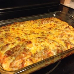 Italian Sausage Tortellini Bake Recipe
