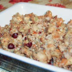 Cranberry Nut Stuffing Recipe