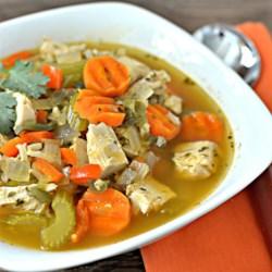 Mexican Turkey Soup Recipe