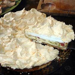 Photo of Grandma's Rhubarb Torte by pie223