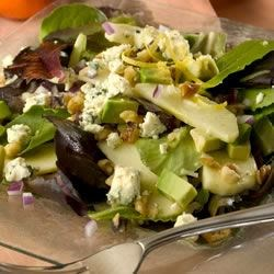 Image of Apple Avocado Salad With Tangerine Dressing, AllRecipes