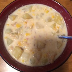 Grandma's Corn Chowder Recipe