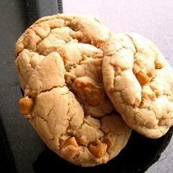 Big-Batch Butterscotch Cookies