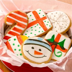 Holiday Painted Cookies