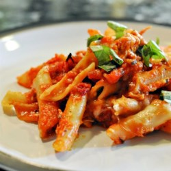 Ziti With Olives and Sun-Dried Tomatoes Recipe