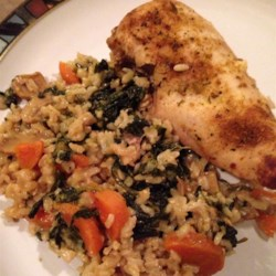 Okra, Chicken and Rice Casserole Recipe