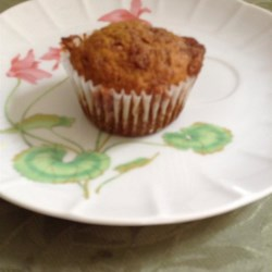 Pumpkin Muffins with Cinnamon Streusel Topping Recipe