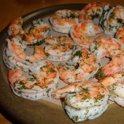 Dilled Shrimp (Rejer) Recipe