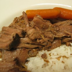 Pot Roast, without the cream soup