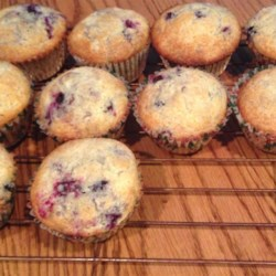 Huckleberry Muffins Recipe