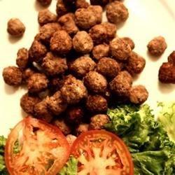 Kaftede's Greek Meatballs