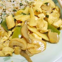 Ken's Spicy Curry Chicken Recipe