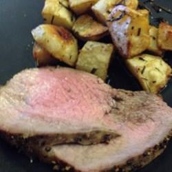 Crusty Herb Potato Wedges  Recipe