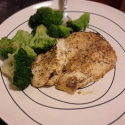 Herb Crusted Tilapia with Garlic Butter Recipe