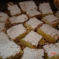 Sunburst Lemon Bars Recipe
